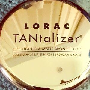 Lorac Tantalizer highlight/bronzer duo